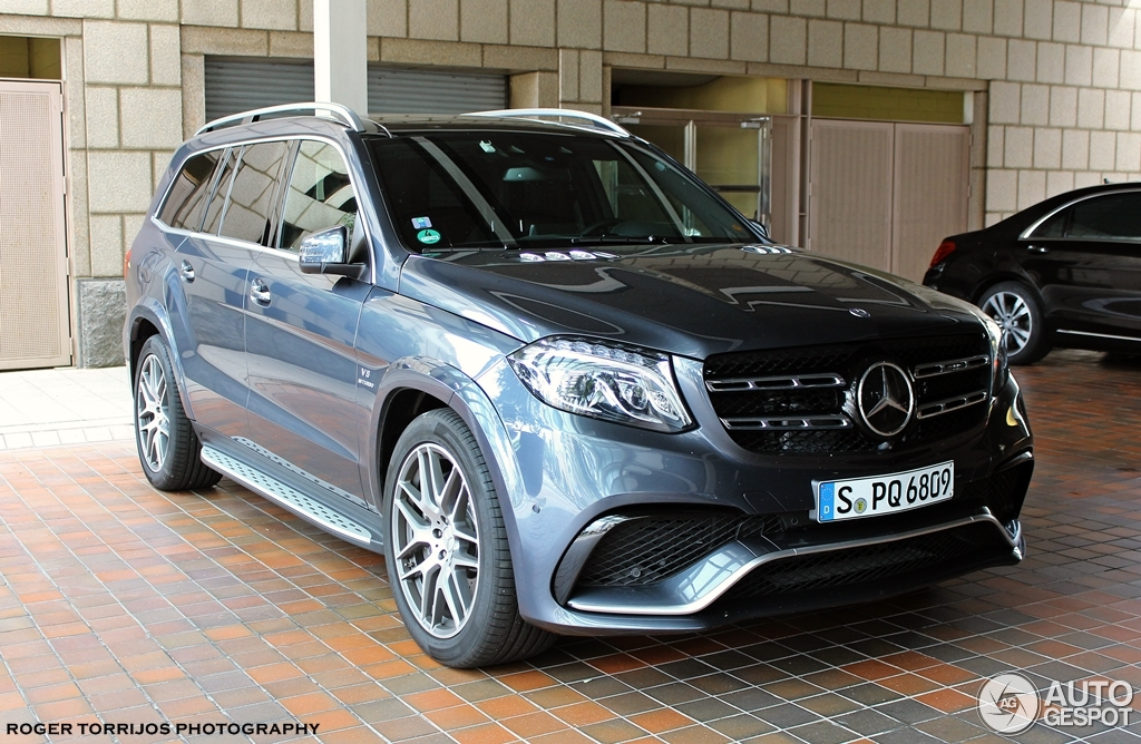 Mercedes amg gls 63 14 may 2016 autogespot for Mercedes benz gls 63 amg