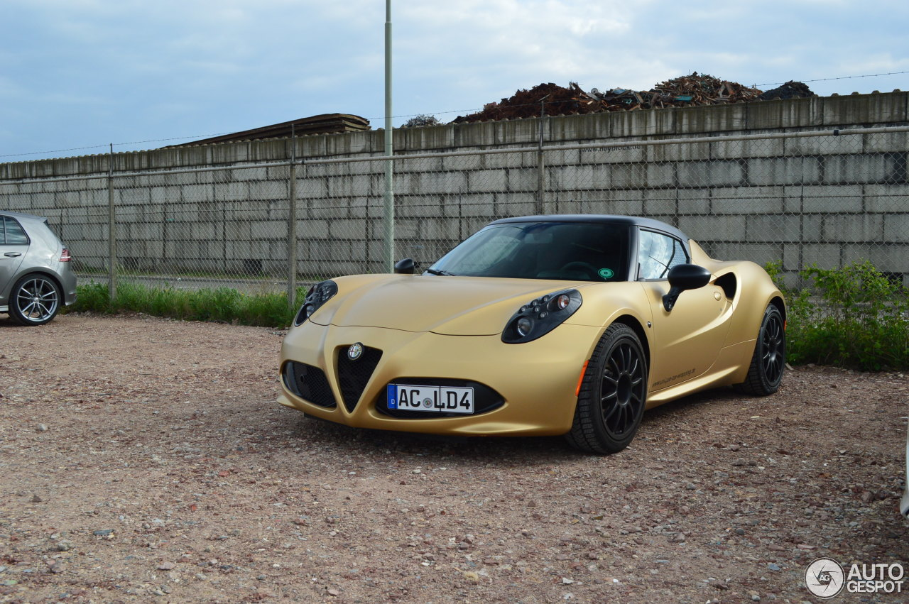 alfa romeo 4c 15 may 2016 autogespot. Black Bedroom Furniture Sets. Home Design Ideas