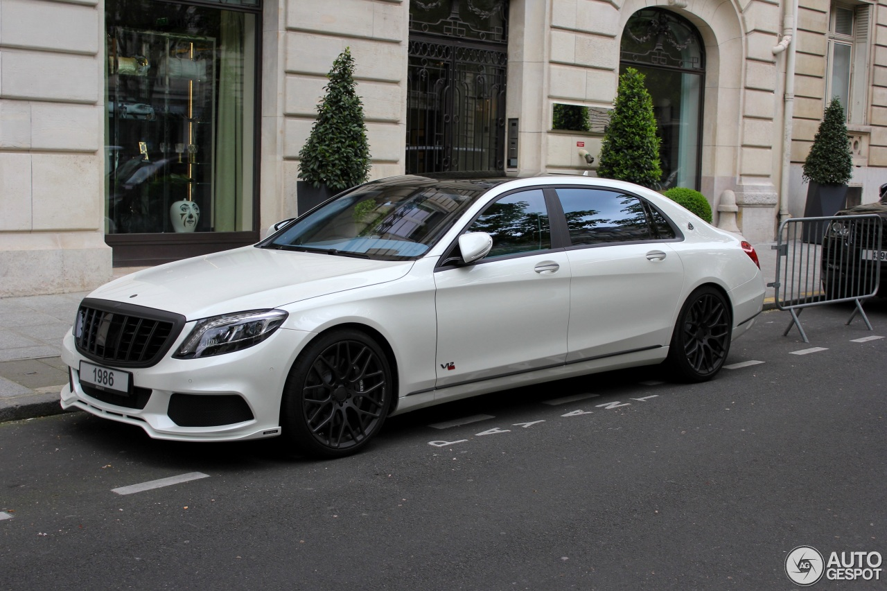 Mercedes Maybach Brabus 900 Rocket 18 May 2016 Autogespot