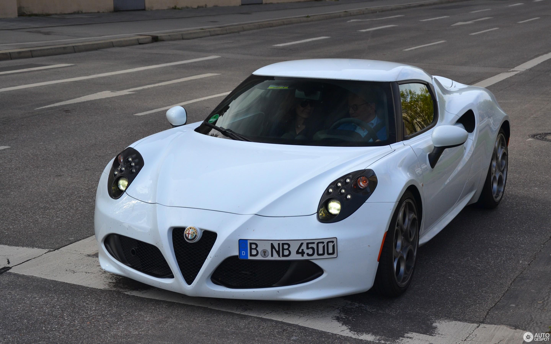 Alfa Romeo 4C 19 Mai 2016 Autogespot