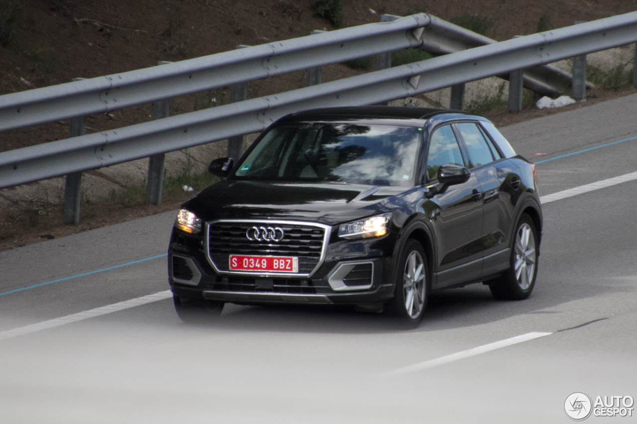Audi Q2 Mule 21 May 2016 Autogespot