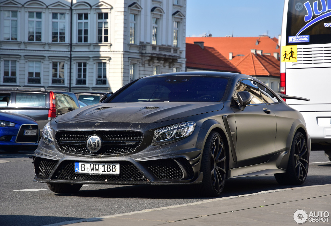 mercedes benz mansory s 63 amg coupe black edition 22 may 2016 autogespot. Black Bedroom Furniture Sets. Home Design Ideas