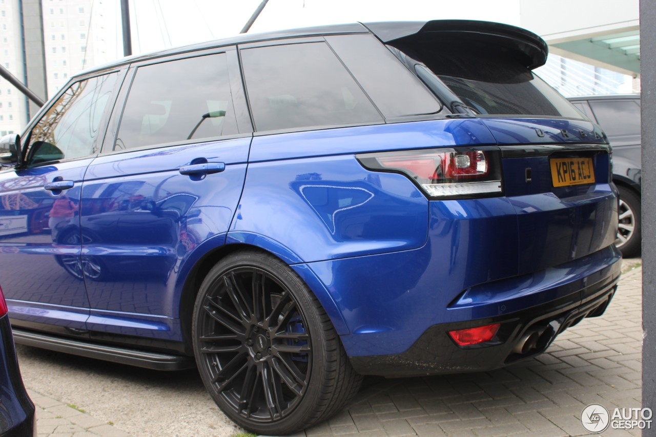 Land Rover Urban Range Rover Sport Svr 23 May 2016
