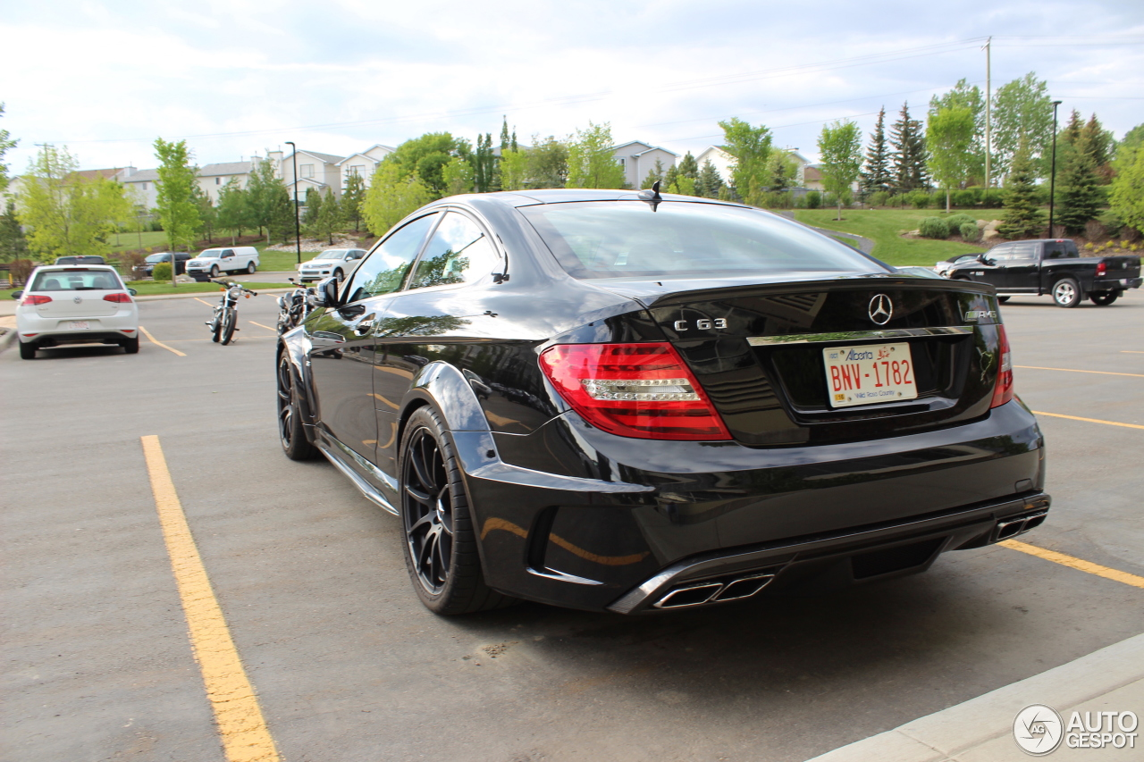Mercedes benz c 63 amg coup black series 24 may 2016 for All types of mercedes benz cars