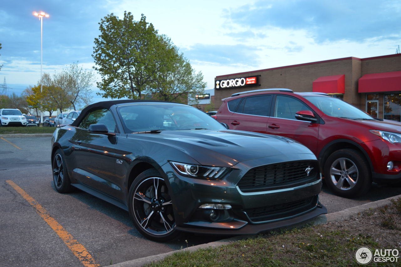 ford mustang gt california special convertible 2016 25 may 2016 autogespot. Black Bedroom Furniture Sets. Home Design Ideas