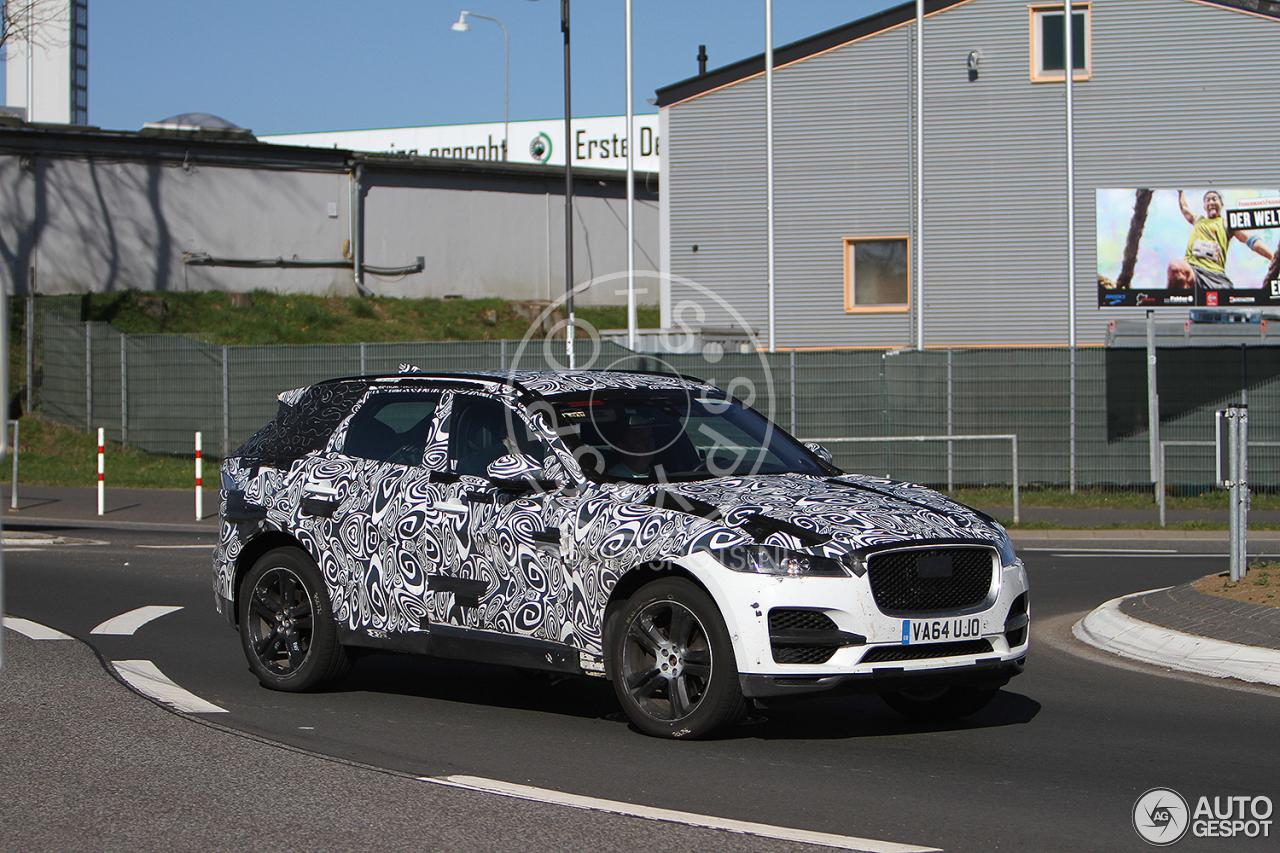 Jaguar E-Pace Mule - 31 May 2016 - Autogespot