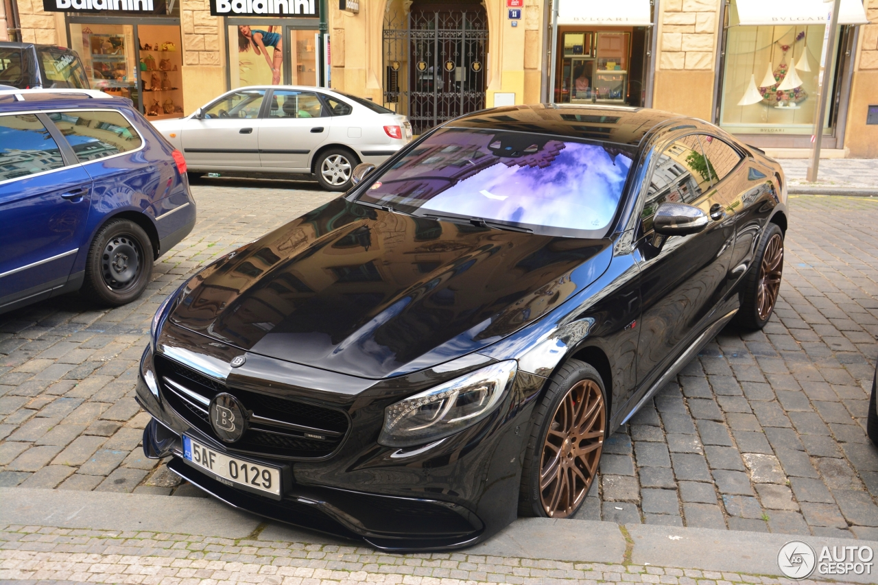 Mercedes benz brabus 850 6 0 biturbo coupe c217 31 may for Mercedes benz 850