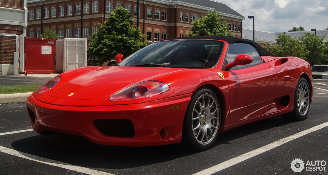 Ferrari 360 Spider 1 June 2016 Autogespot