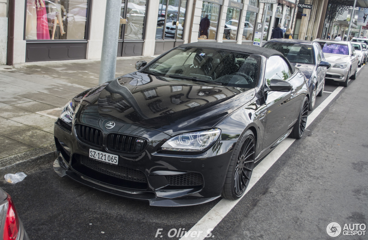 bmw hamann m6 f12 cabriolet 4 june 2016 autogespot. Black Bedroom Furniture Sets. Home Design Ideas