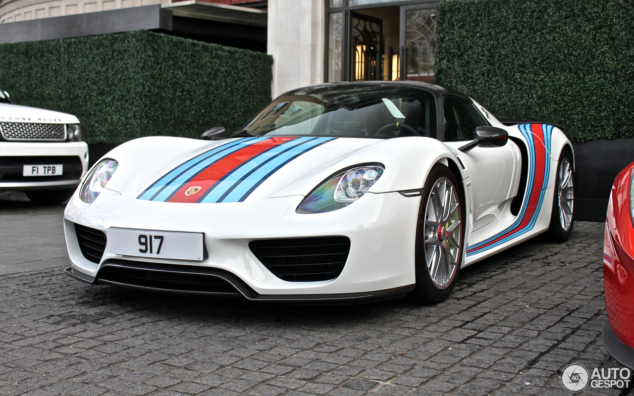 Porsche 918 Spyder Weissach Package 4 June 2016 Autogespot
