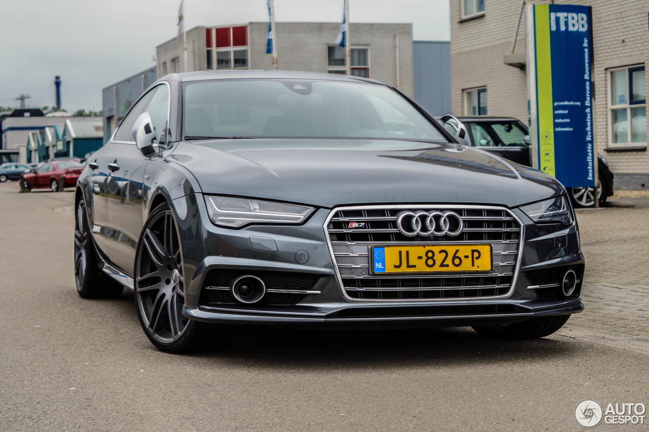 audi s7 sportback 2015 8 june 2016 autogespot. Black Bedroom Furniture Sets. Home Design Ideas