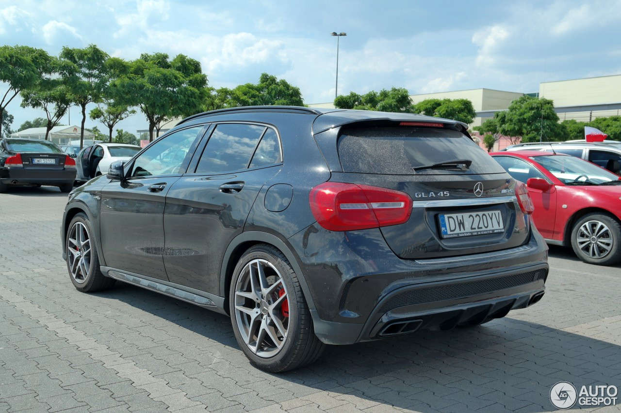 Mercedes benz gla 45 amg x156 12 czerwiec 2016 autogespot for Mercedes benz gla 45 amg