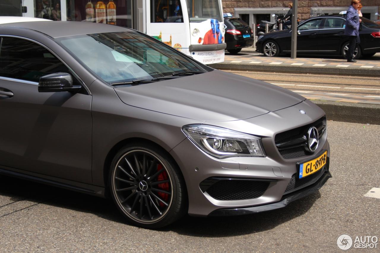 Mercedes Benz Cla 45 Amg Edition 1 C117 19 June 2016