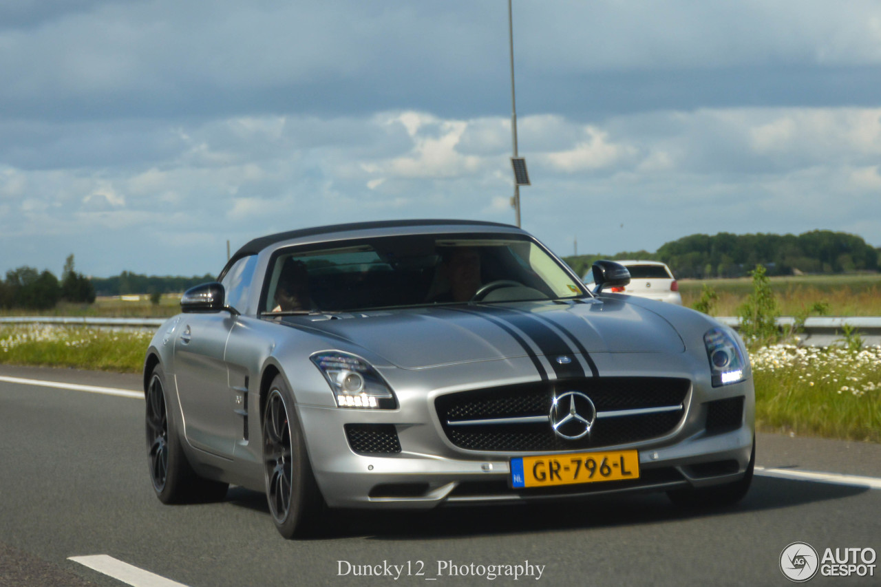 mercedes benz sls amg gt roadster 21 juni 2016 autogespot. Black Bedroom Furniture Sets. Home Design Ideas