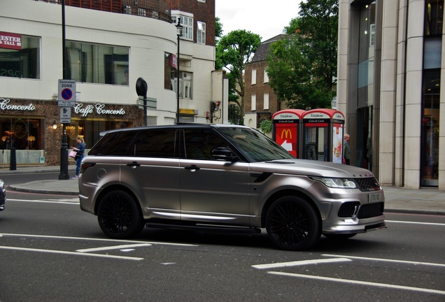 Land Rover Urban Range Rover Sport RRS
