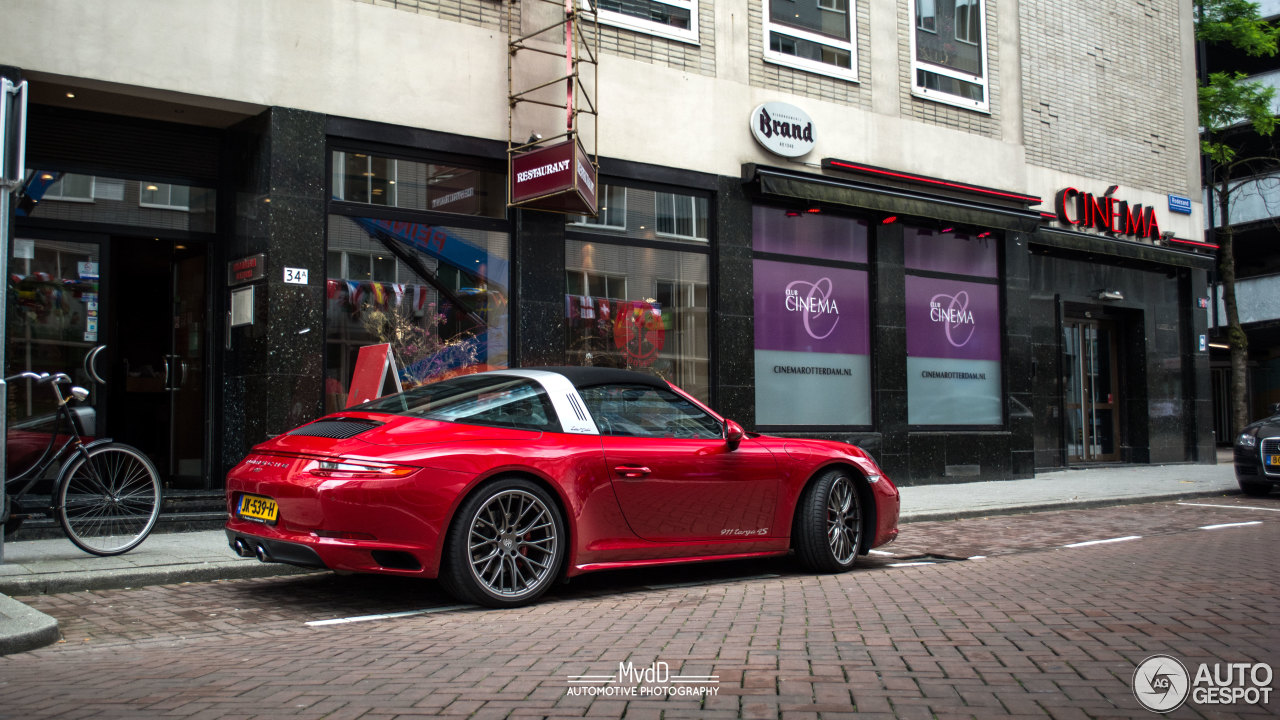 porsche 991 targa 4s mkii 24 june 2016 autogespot. Black Bedroom Furniture Sets. Home Design Ideas