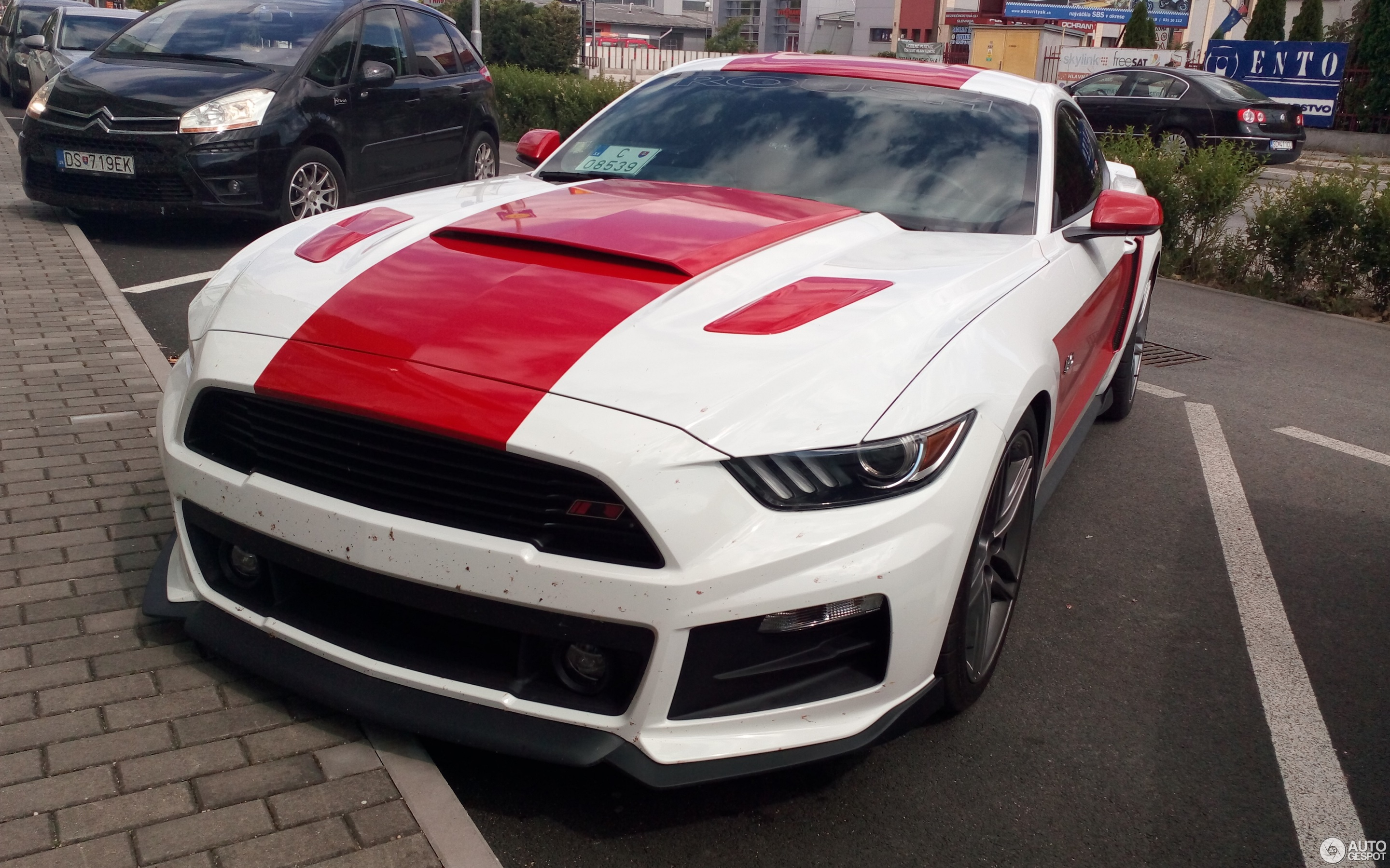 ford mustang roush stage 2 2015 26 june 2016 autogespot