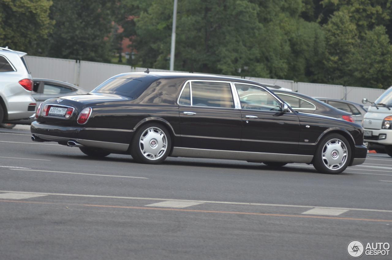 Bentley Arnage Rl Mulliner Limousine 27 June 2016