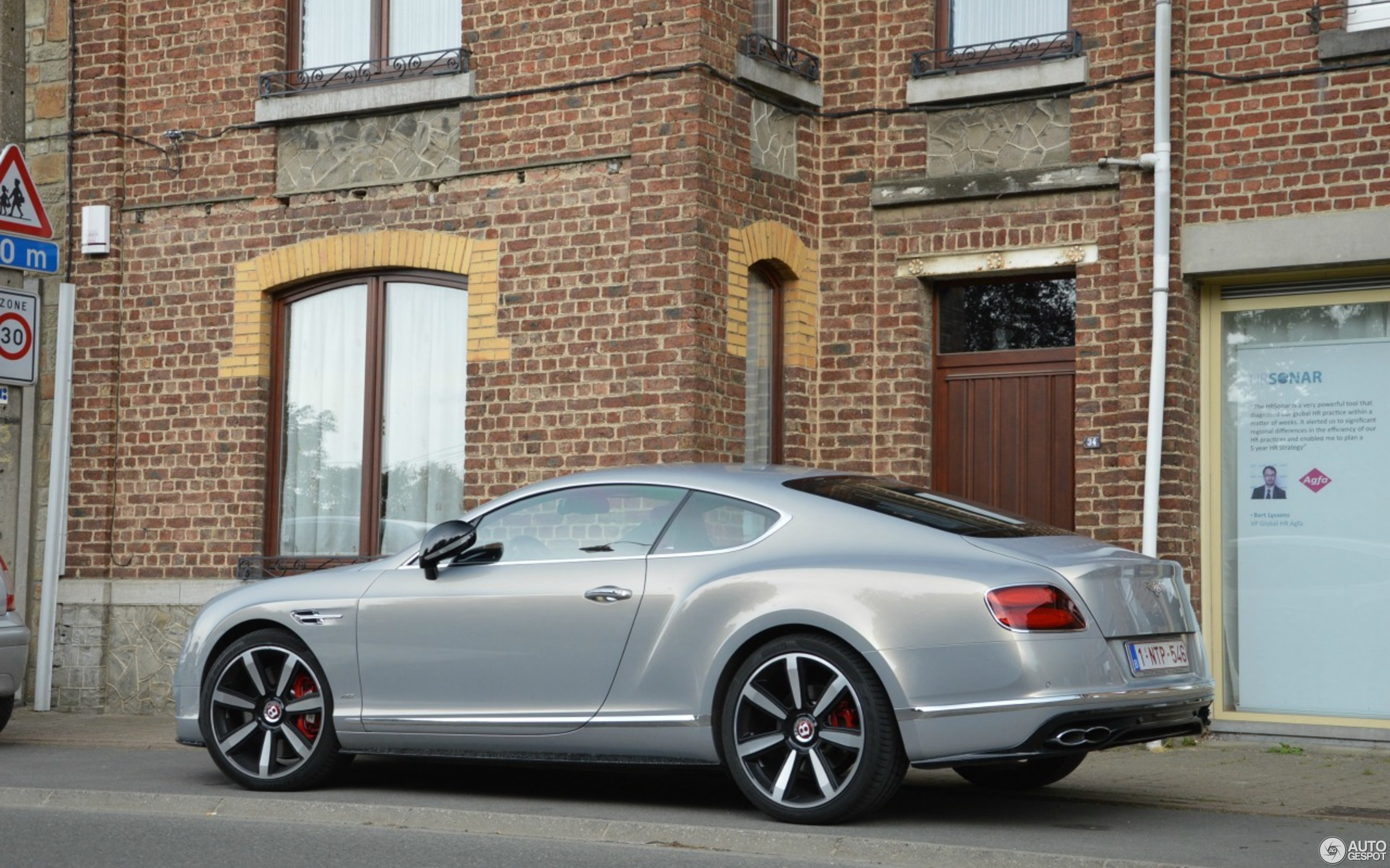 Bentley Continental GT V8 S 2016 27 June 2016 Autogespot