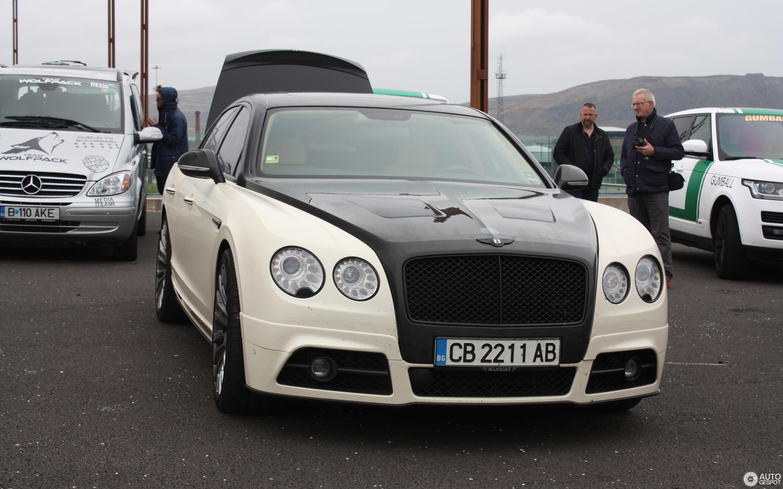 Bentley Mansory Flying Spur W12 27 June 2016 Autogespot