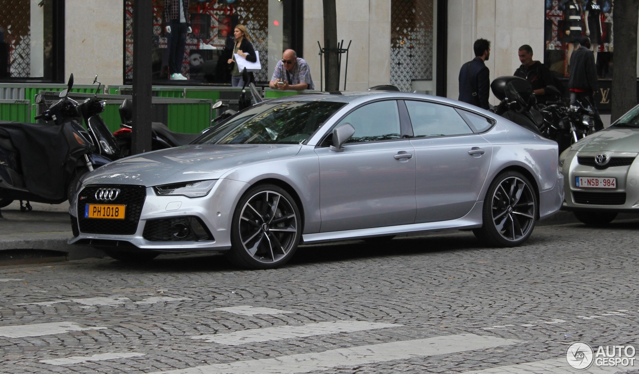 audi rs7 sportback 2015 performance 29 june 2016. Black Bedroom Furniture Sets. Home Design Ideas