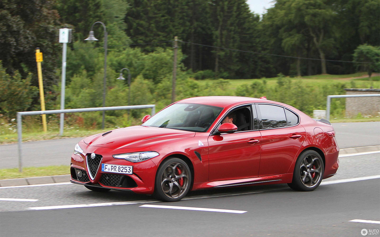 Alfa Romeo Giulia Quadrifoglio 30 јун 2016 Autogespot