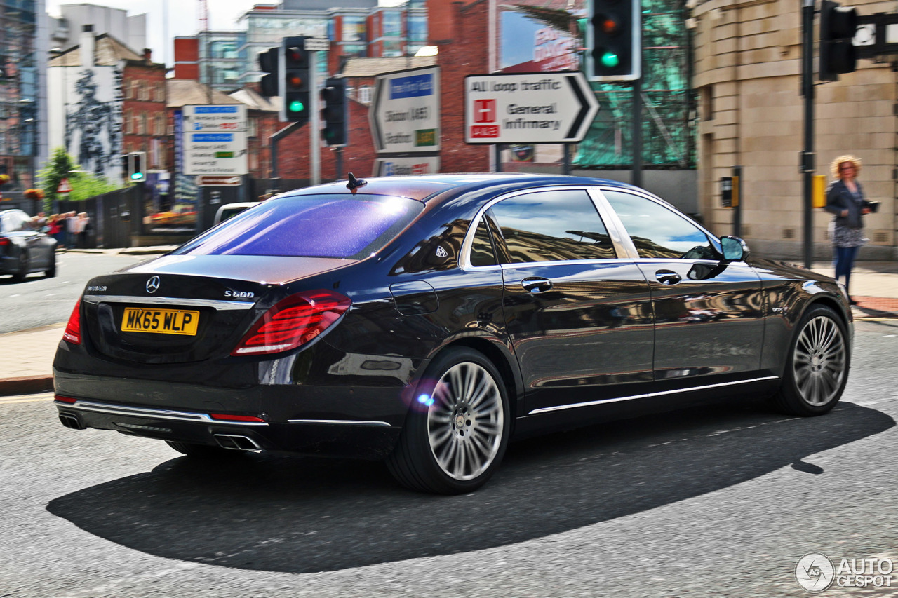 mercedes maybach s600 2 july 2016 autogespot. Black Bedroom Furniture Sets. Home Design Ideas