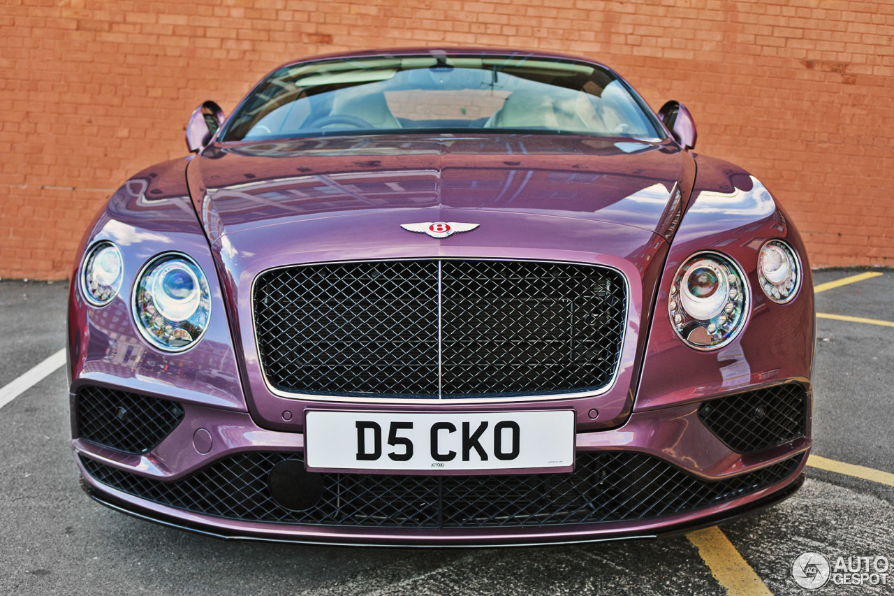 bentley continental gt v8 s 2016 3 july 2016 autogespot. Black Bedroom Furniture Sets. Home Design Ideas