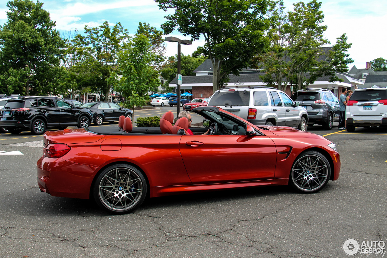 Bmw M4 F83 Convertible 4 July 2016 Autogespot