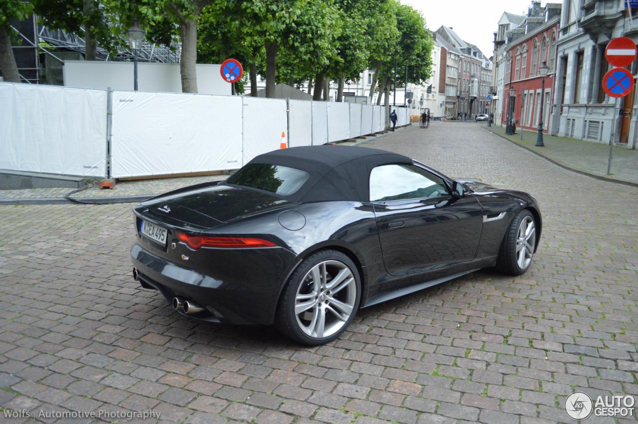 jaguar f type s v8 convertible 11 july 2016 autogespot. Black Bedroom Furniture Sets. Home Design Ideas