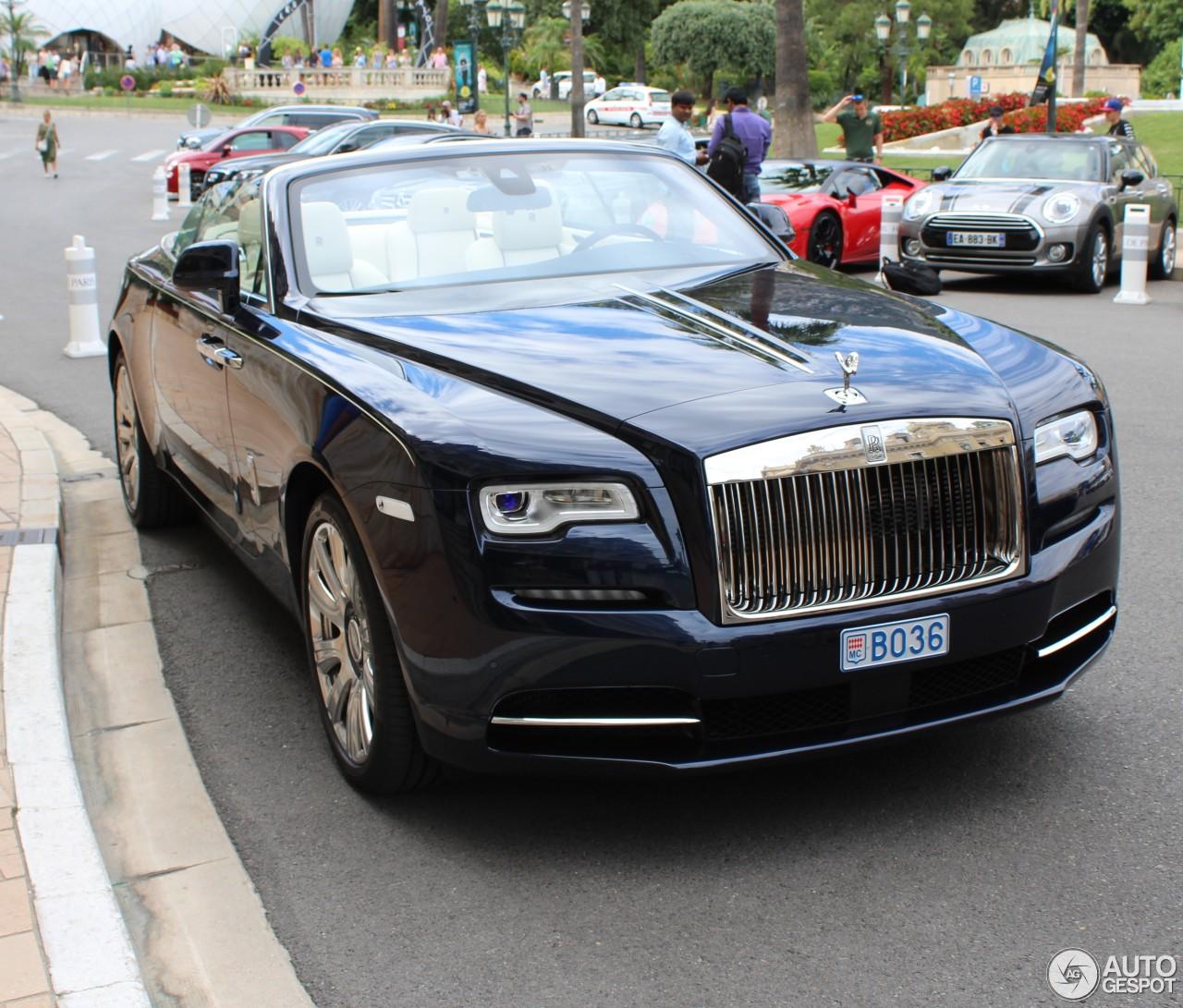 2016 Rolls Royce Wraith Camshaft: Rolls-Royce Dawn