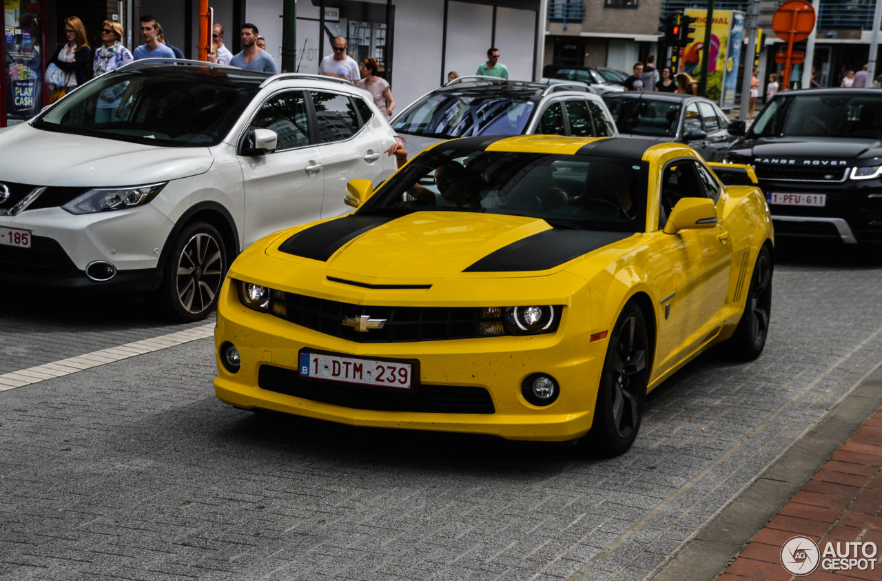 Chevrolet Camaro Ss Transformers Edition 2012 17 July 2016 Autogespot