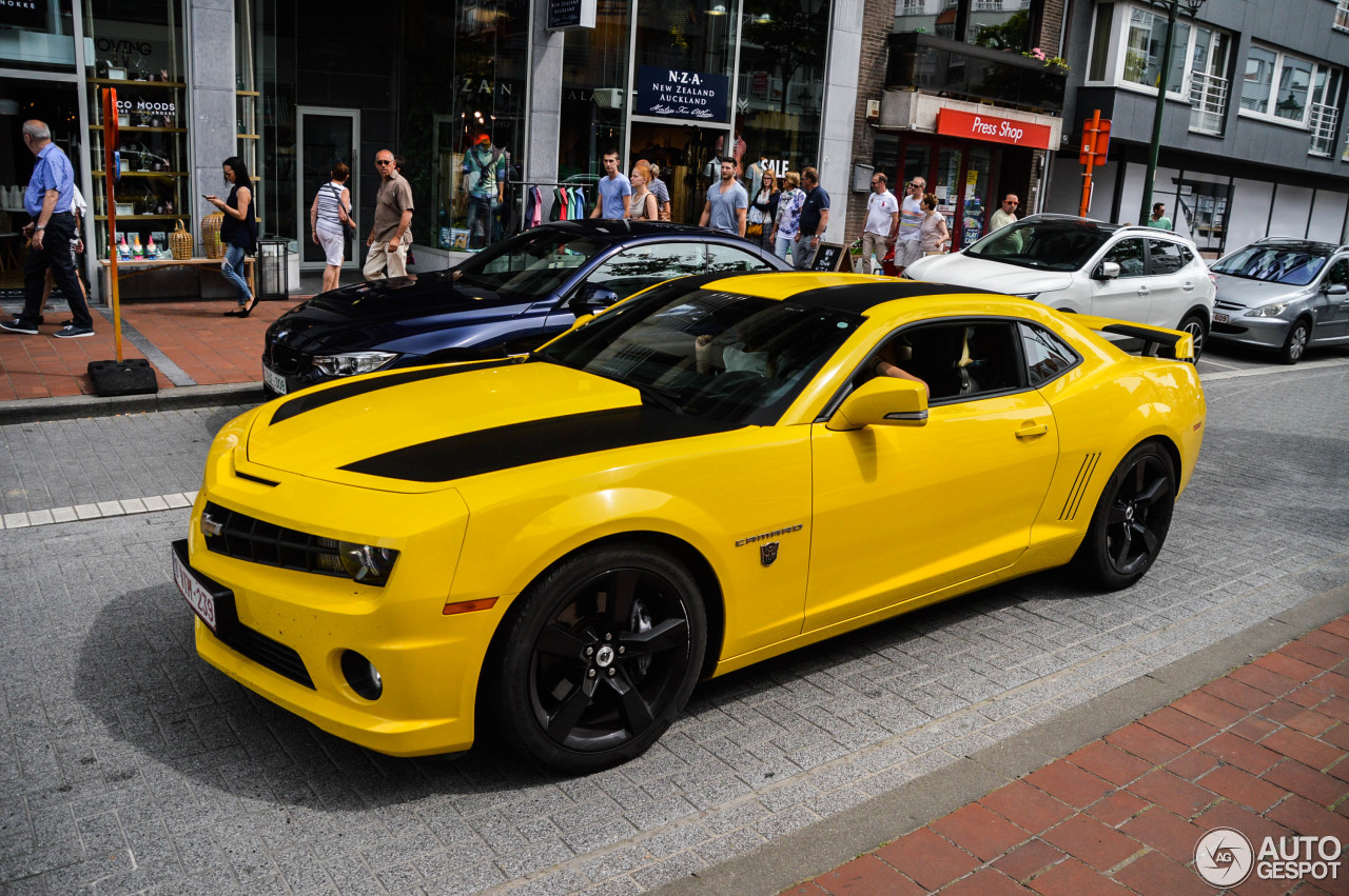 Chevrolet Camaro Ss Transformers Edition 2012 17 July