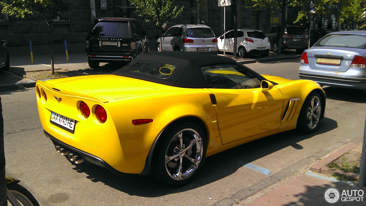 Chevrolet Corvette C6 Grand Sport Convertible 17 July