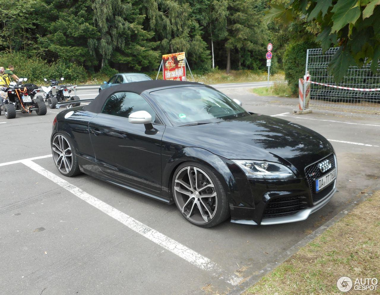 Audi Abt Tt Rs Roadster 18 July 2016 Autogespot