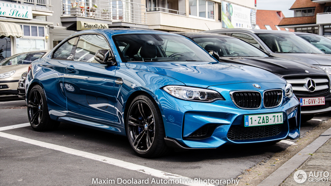 bmw m2 coup f87 18 july 2016 autogespot. Black Bedroom Furniture Sets. Home Design Ideas