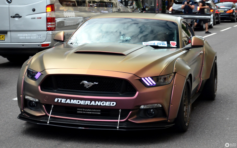 Mustang 2015 wide body