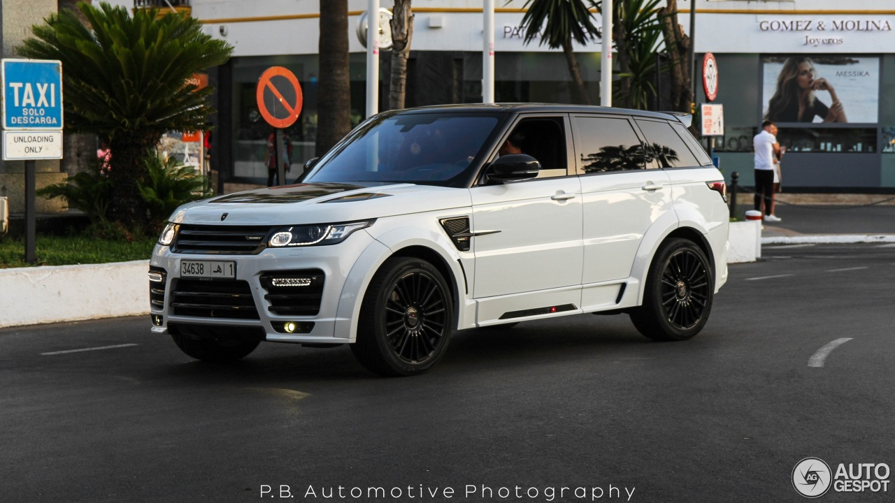 Land Rover Mansory Range Rover Sport SVR - 20 July 2016 ...