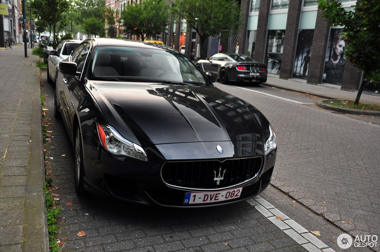 maserati quattroporte s 2013 22 juli 2016 autogespot. Black Bedroom Furniture Sets. Home Design Ideas