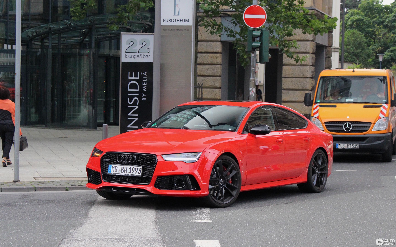 Audi Rs7 Sportback 2015 Performance 24 July 2016 Autogespot
