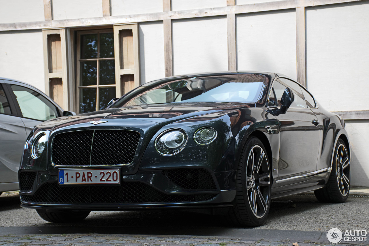 bentley continental gt v8 s 2016 28 july 2016 autogespot. Black Bedroom Furniture Sets. Home Design Ideas