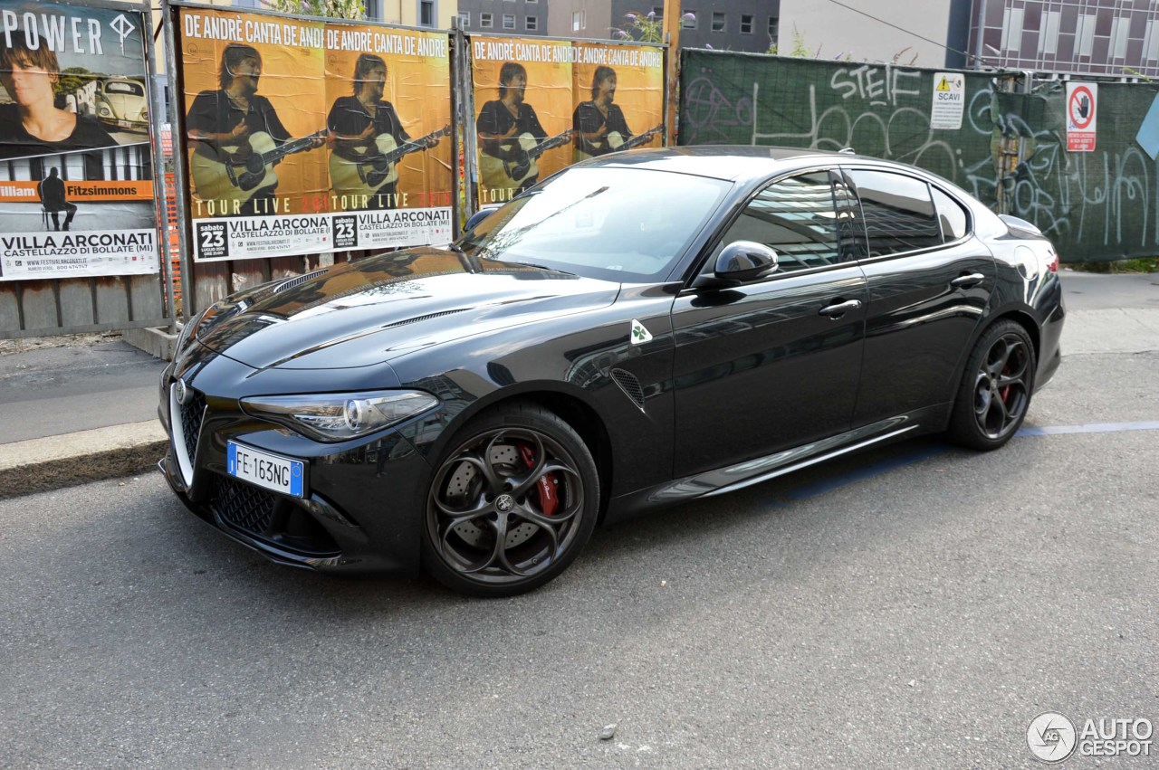 alfa romeo giulia quadrifoglio 29 july 2016 autogespot. Black Bedroom Furniture Sets. Home Design Ideas