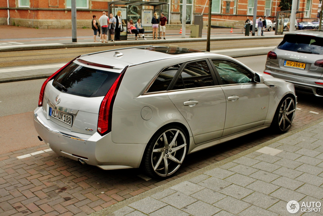 Cadillac Cts V Sport Wagon 30 July 2016 Autogespot