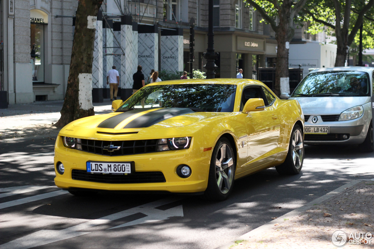 Chevrolet Camaro Ss Transformers Edition 30 July 2016