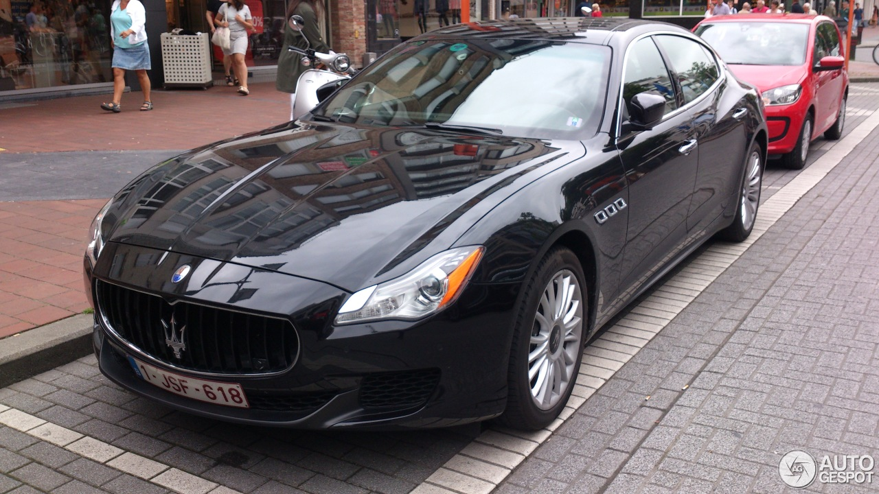 maserati quattroporte s q4 2013 31 juli 2016 autogespot. Black Bedroom Furniture Sets. Home Design Ideas