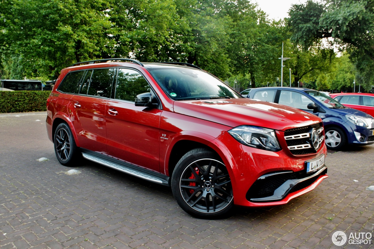 Mercedes Amg Gls 63 31 July 2016 Autogespot