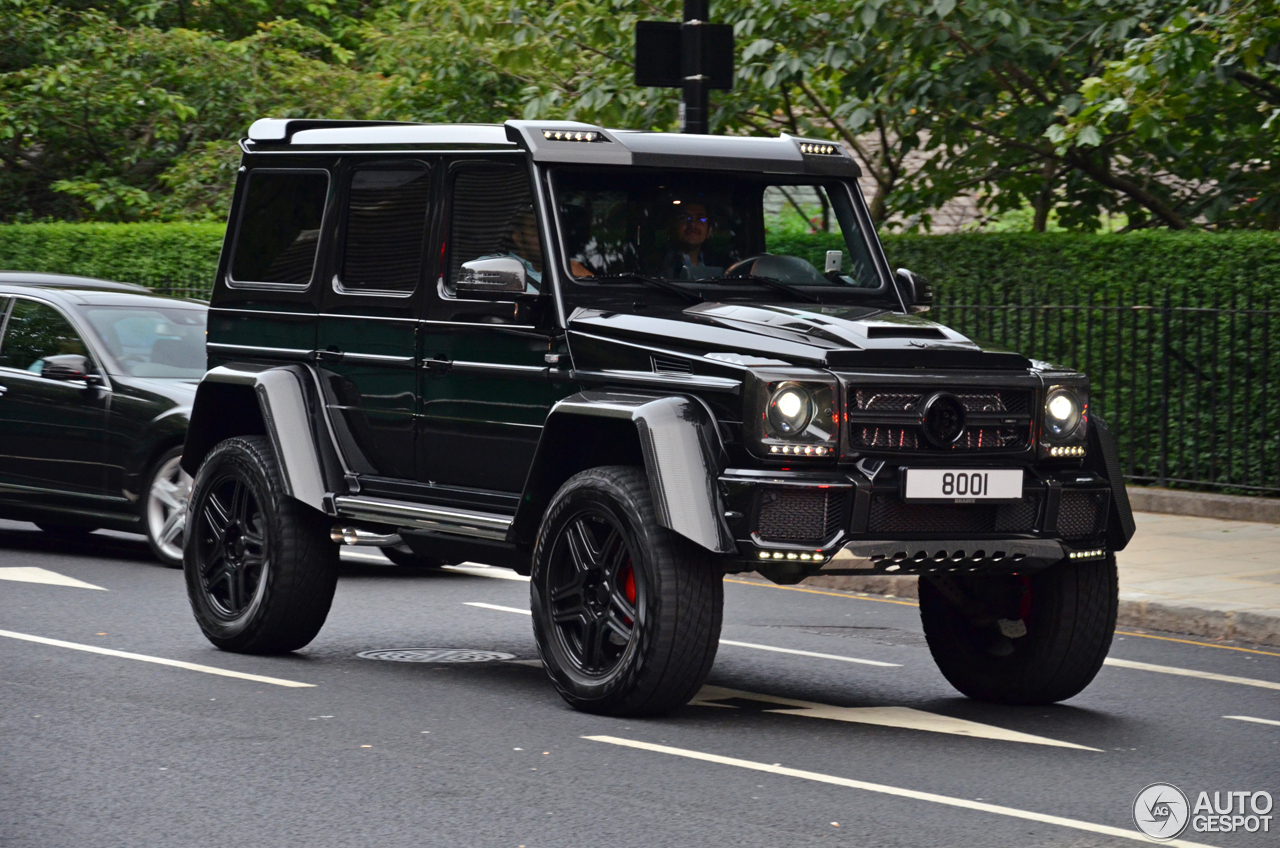mercedes benz brabus g 500 4x4 1 august 2016 autogespot. Black Bedroom Furniture Sets. Home Design Ideas