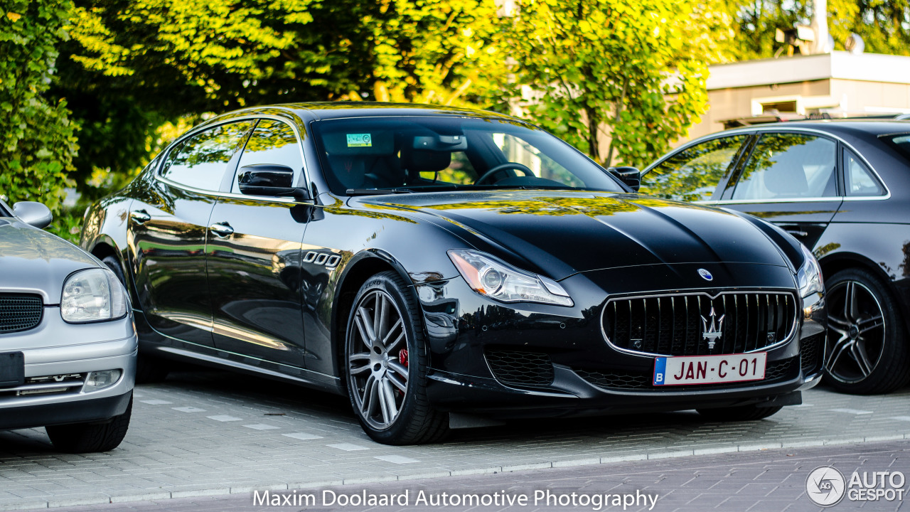 maserati quattroporte s 2013 2 augustus 2016 autogespot. Black Bedroom Furniture Sets. Home Design Ideas