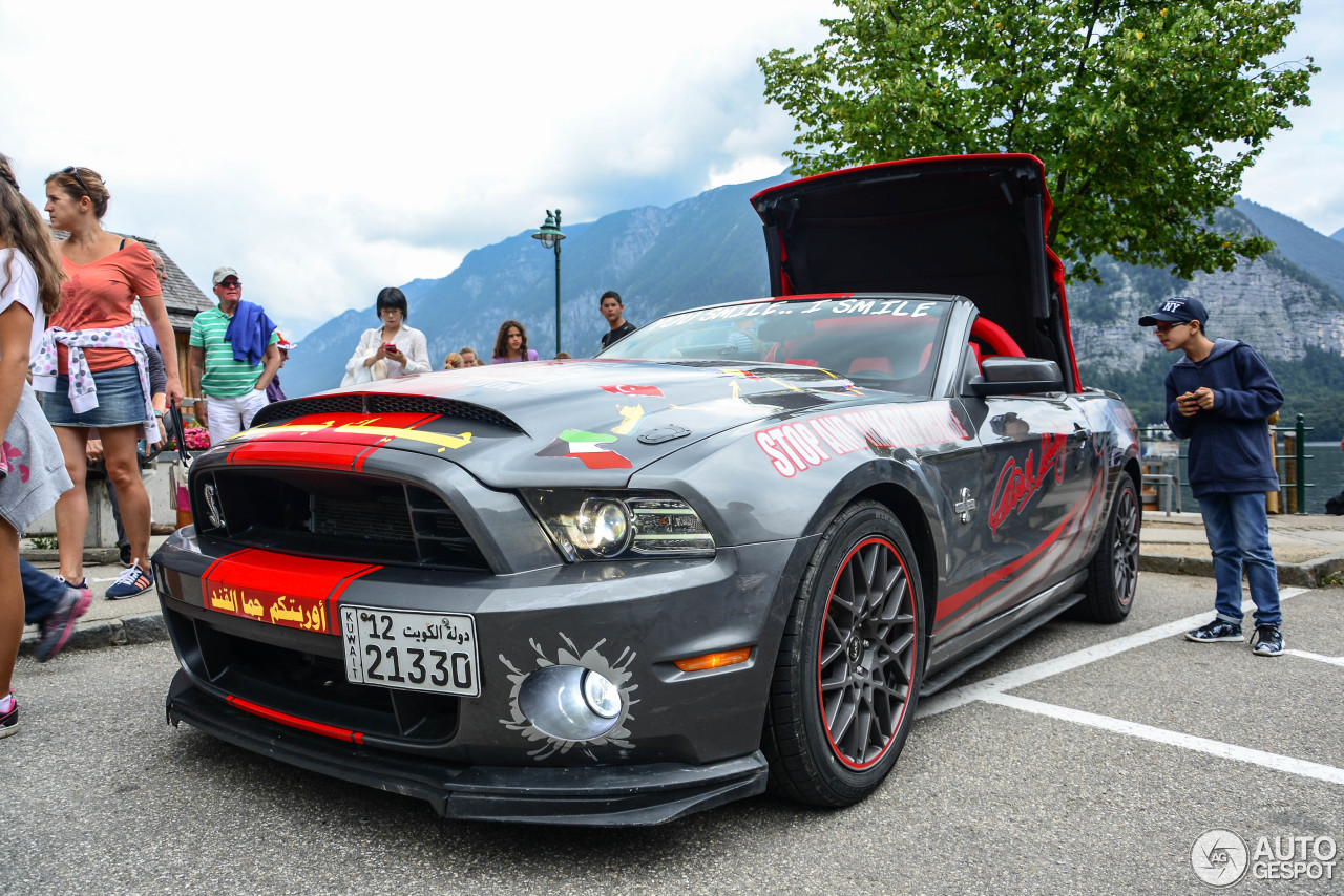 Ford Mustang Shelby Gt500 Super Snake Convertible 2014 3