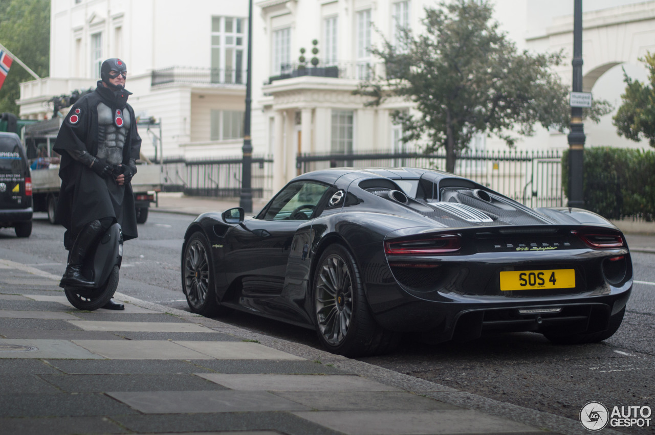 porsche 918 spyder 3 august 2016 autogespot. Black Bedroom Furniture Sets. Home Design Ideas